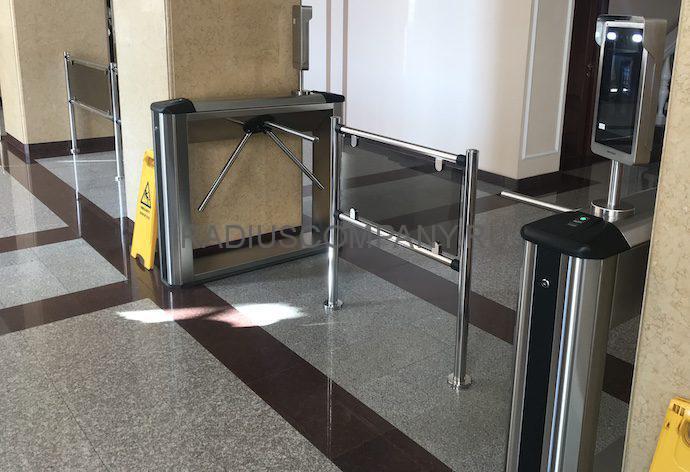 Оснащение турникетов PERCO терминалами распознавания лиц
